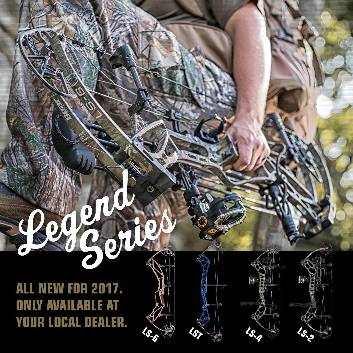 Legend Series Bear Archery Bows 2017