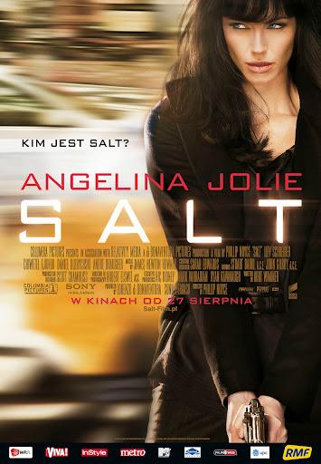 Polski plakat filmu 'Salt'