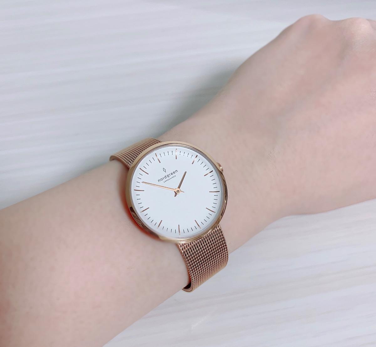 Nordgreen(ノードグリーン)の時計着用写真(レビュー)