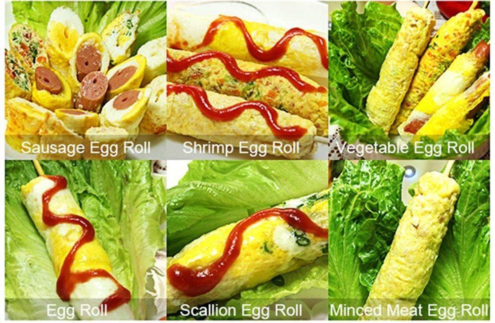 Homemade Egg Sausage Machine