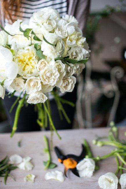 Букет невесты своими руками пошагово