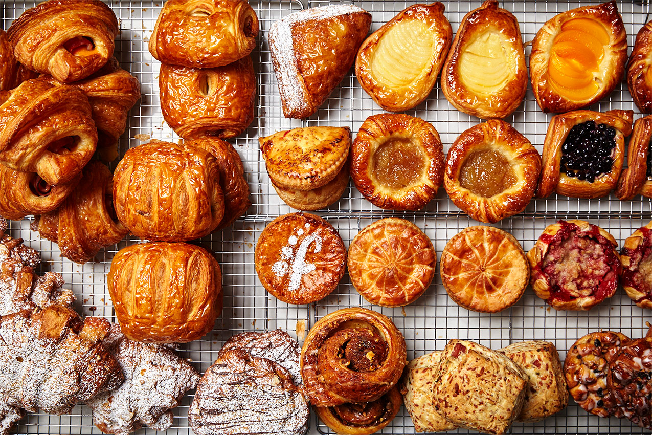 Pastry selection at Fresh Flours