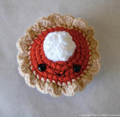 pumpkin pie crochet pattern for thanksgiving