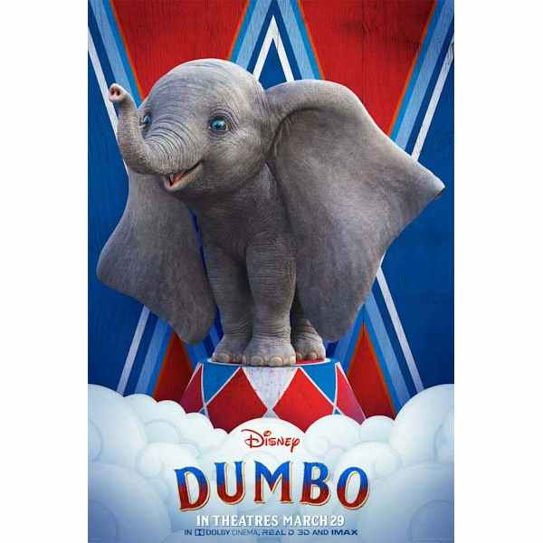 Dumbo 2019 ~ cast budget story review box office details