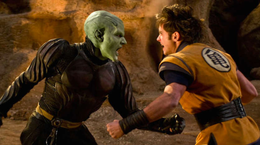 10. Dragonball: Evolution: The movie comes last in the list of 10 most worthless movies but is equally disastrous and cringe-worthy. The movie was rated 2.5 or 3. The film was so unrealistic, and nothing felt authentic or worthy of wasting your two hours.