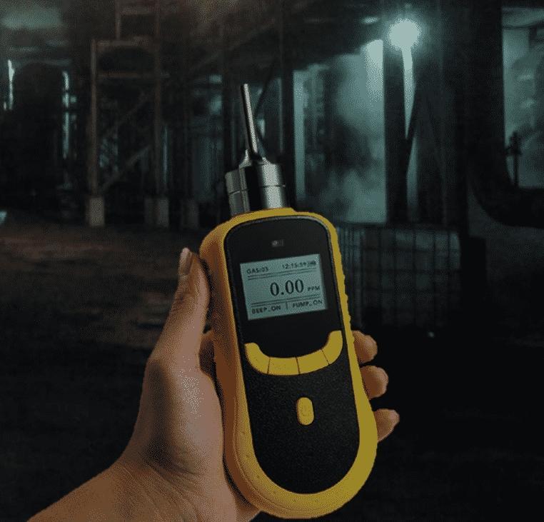 Penggunaan gas detector