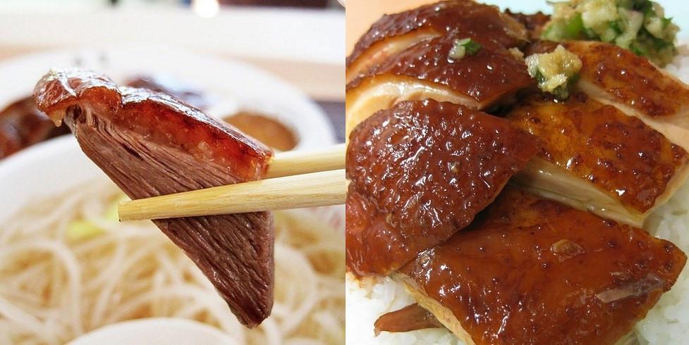 Siu Gno (Ngỗng quay): Thịt ngỗng ngọt mềm với lớp da bắt mắt, giòn tan là một trong những món ngon bạn không nên bỏ qua khi tới Hong Kong.