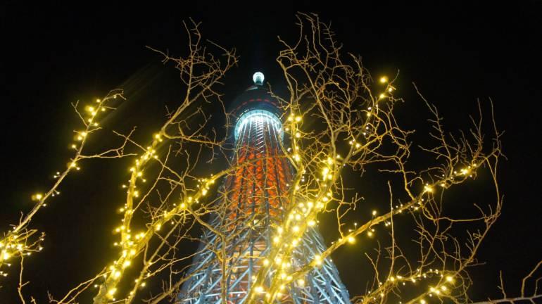 Tokyo winter illuminations