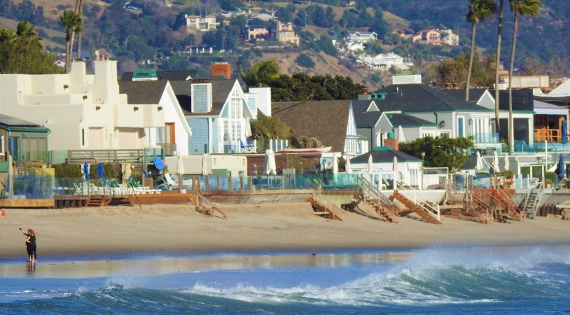 Homes in Malibu Colony, Malibu, CA