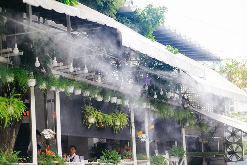 Bí quyết tăng hiệu quả sử dụng của máy phun sương