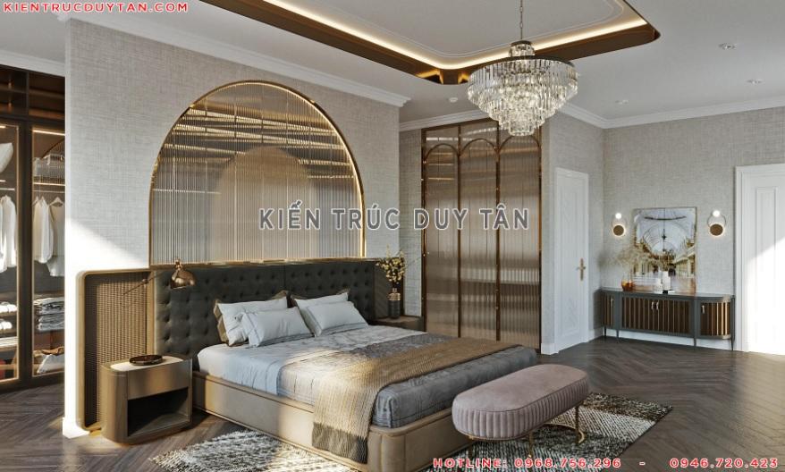 Nội thất phòng ngủ theo phong cách tân cổ điển – view 1
