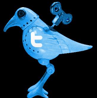 El Investigador en el ave mecánica