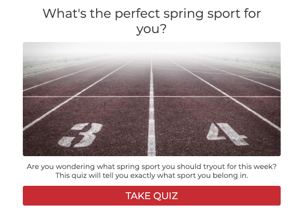what's the perfect spring sport for you cover