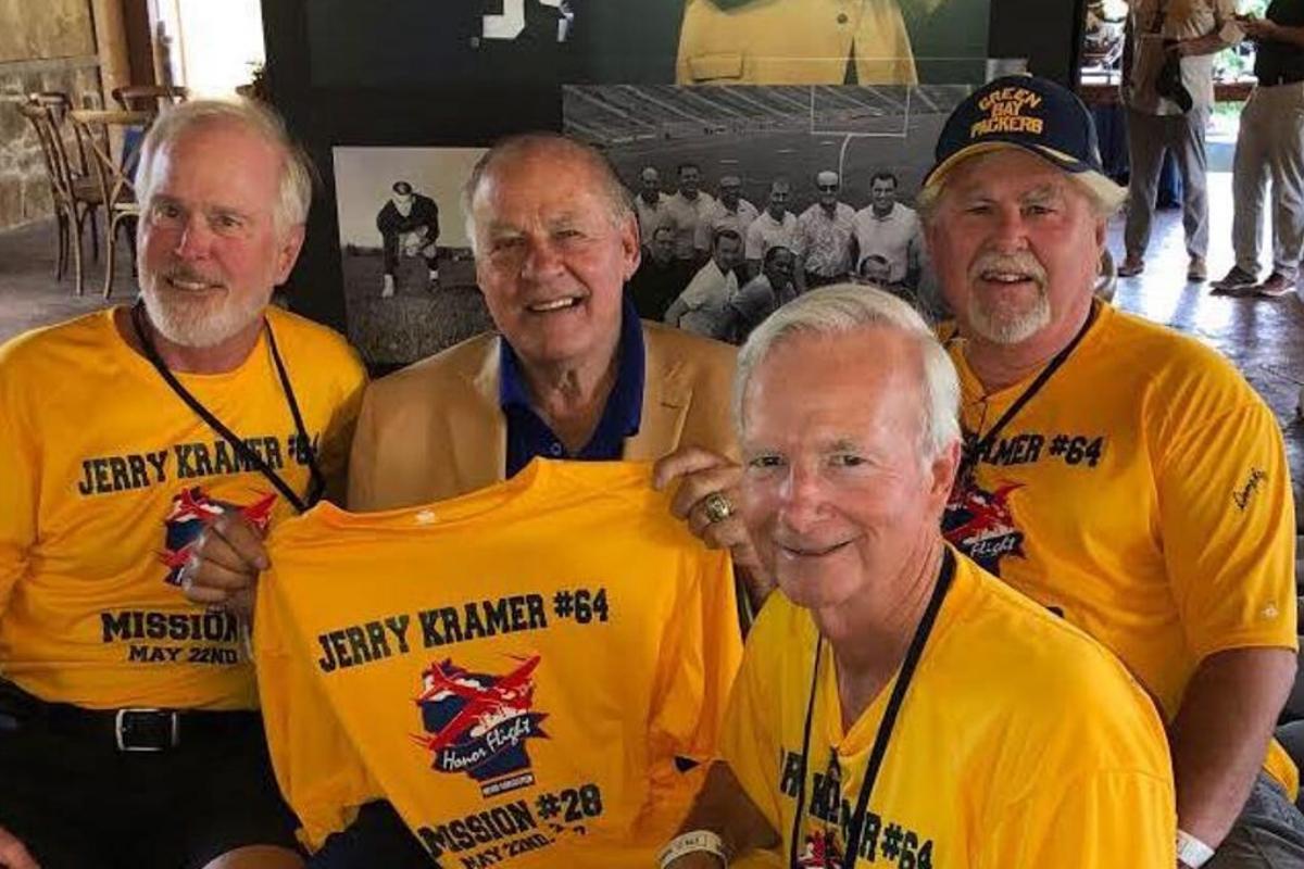 Jerry Kramer Honor Flight