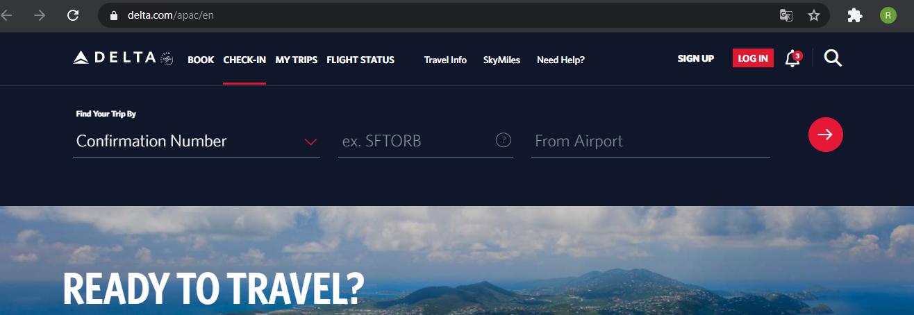Delta airlines boarding pass procedures