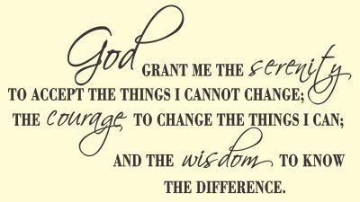 clip art of serenity prayer