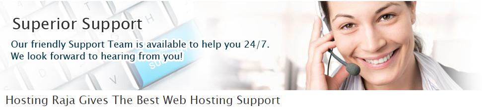 hostingraja support.png