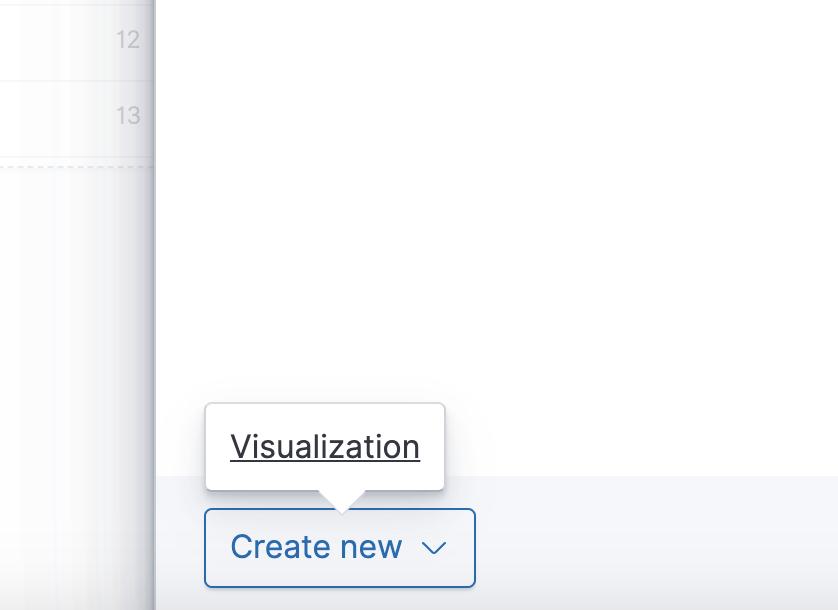 Create a new visualization