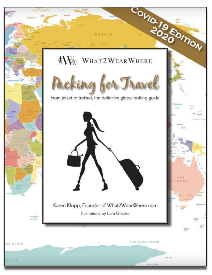 Packing for Travel Covid Edition by Karen Klopp, Lara Glaister