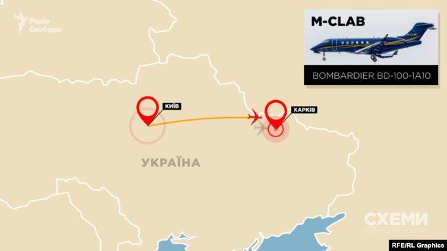 І через пів години здійснив посадку в аеропорту міста Харків, який теж мав зупинити приймання і відправлення пасажирів