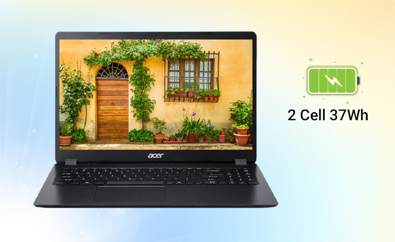 Laptop ACER Aspire 3 A315-56-502X (NX.HS5SV.00F)  | Pin 3 cell 37 Wh