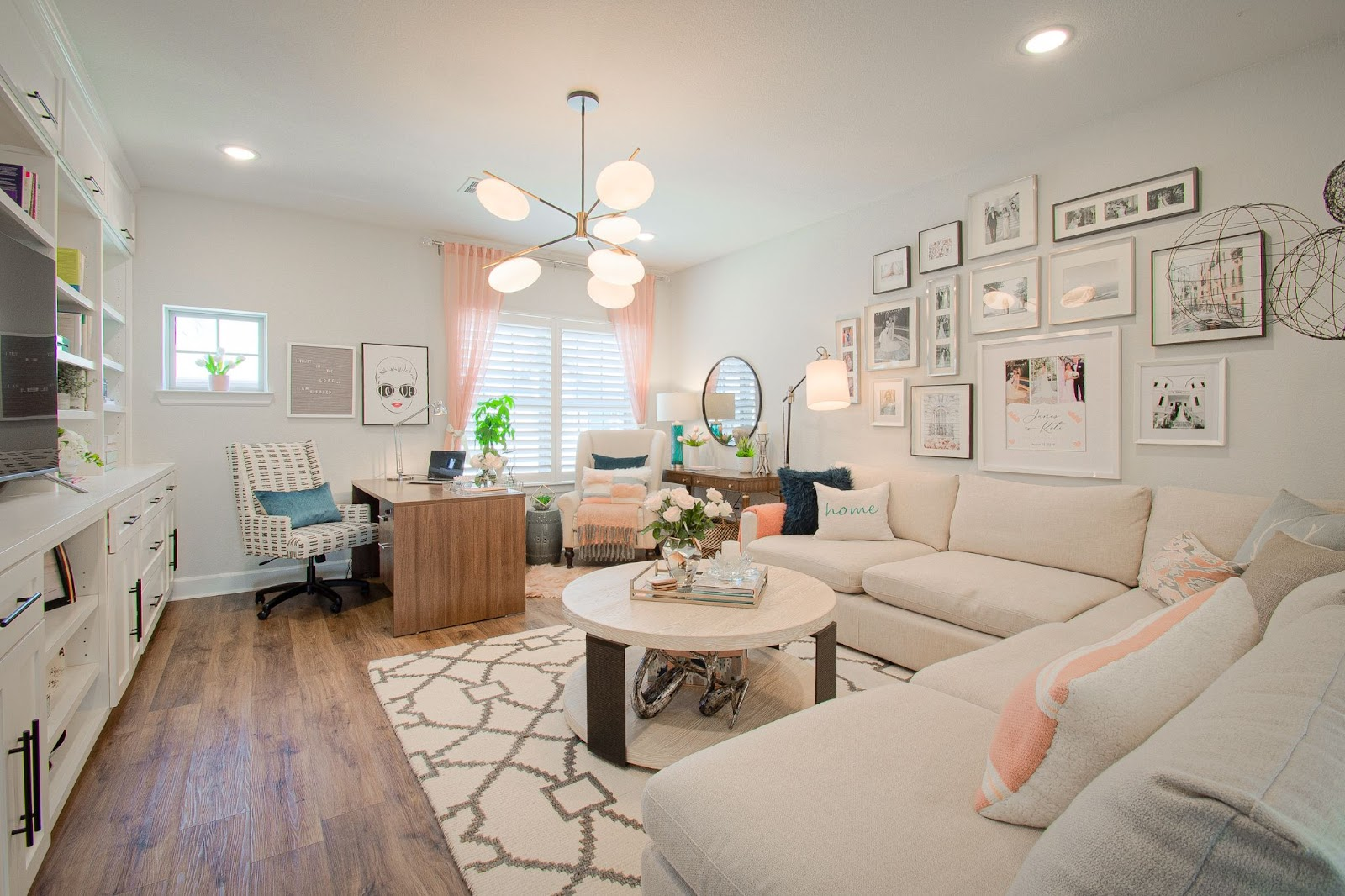 home office custom designed by keti built-in carpentry sofa desk photos