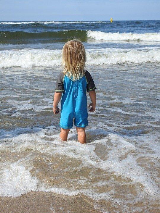 Ребенок, Пляж, Море, Лето, Мальчик, Песок, Молодой
