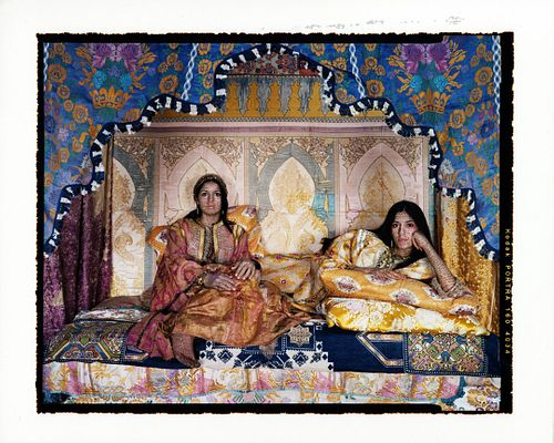 Harem Revisited #51 by Lalla Essaydi