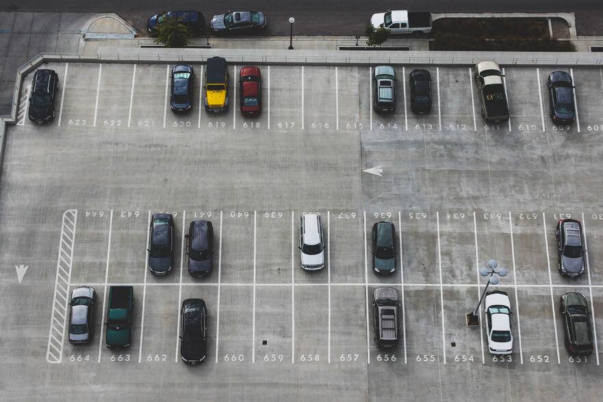 kapasitas parkir
