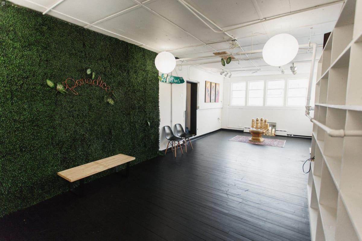 nature inspired indoor studio Seattle