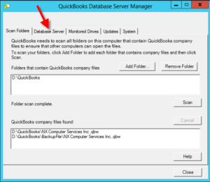 QuickBooks Database server Manager system of information document