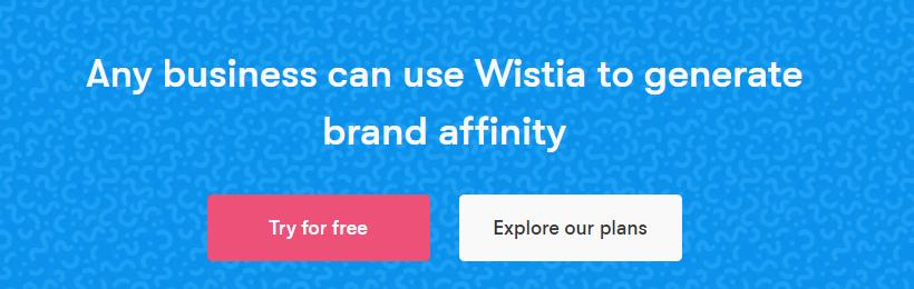 На фото – начальная страница сервиса Wistia 2