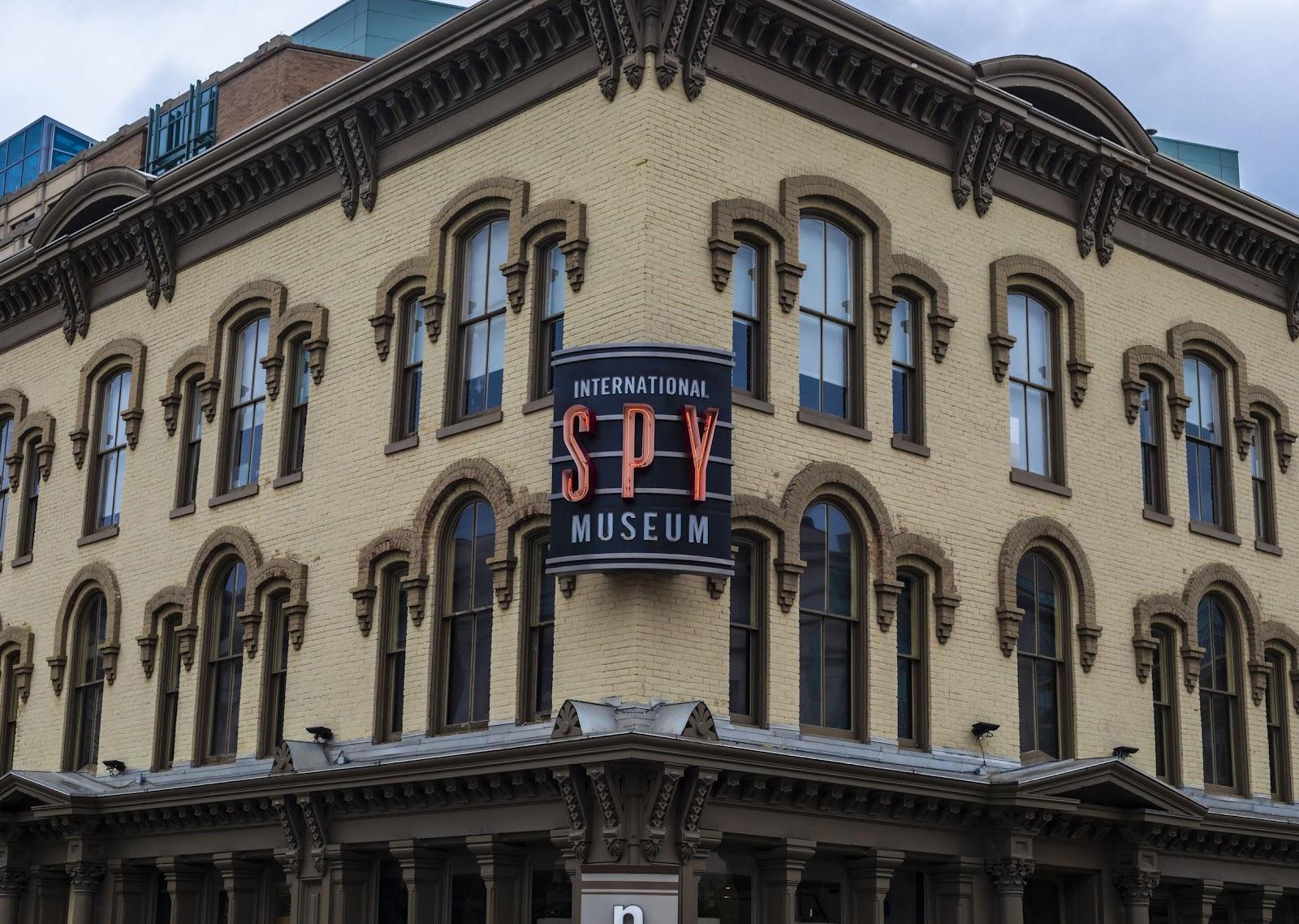 The International Spy museum in Washington, D.C.