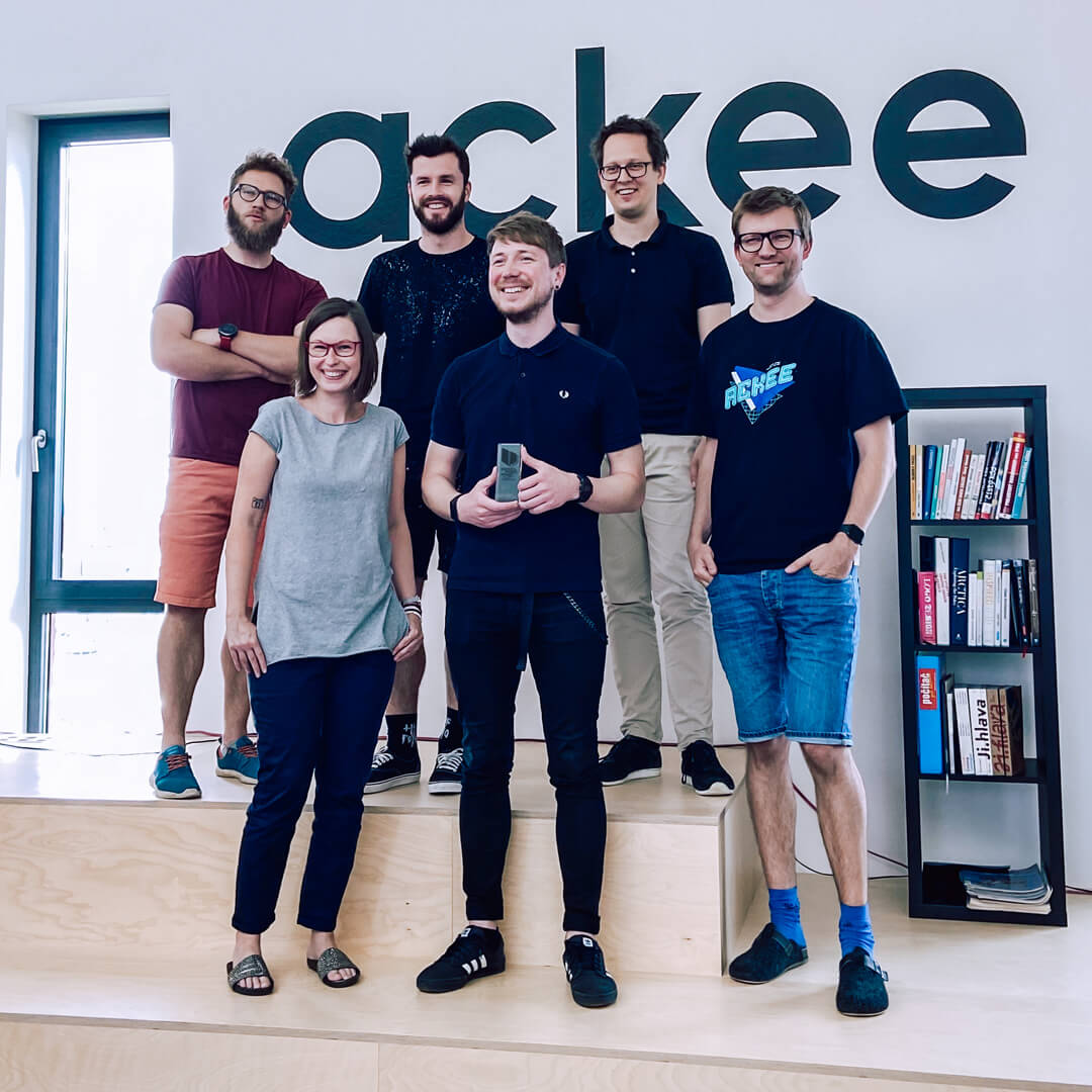 Ackee team German Brand Award 2020