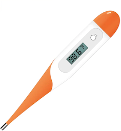 a digital medical thermometer