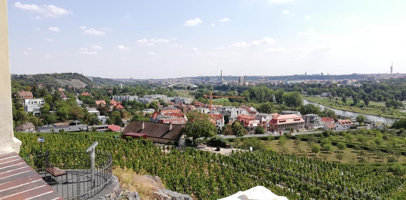 Ботанический сад Прага 8