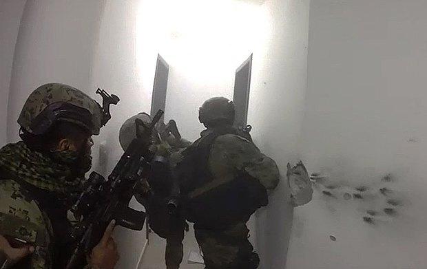 Во время спецоперации по задержанию Эль Чапо