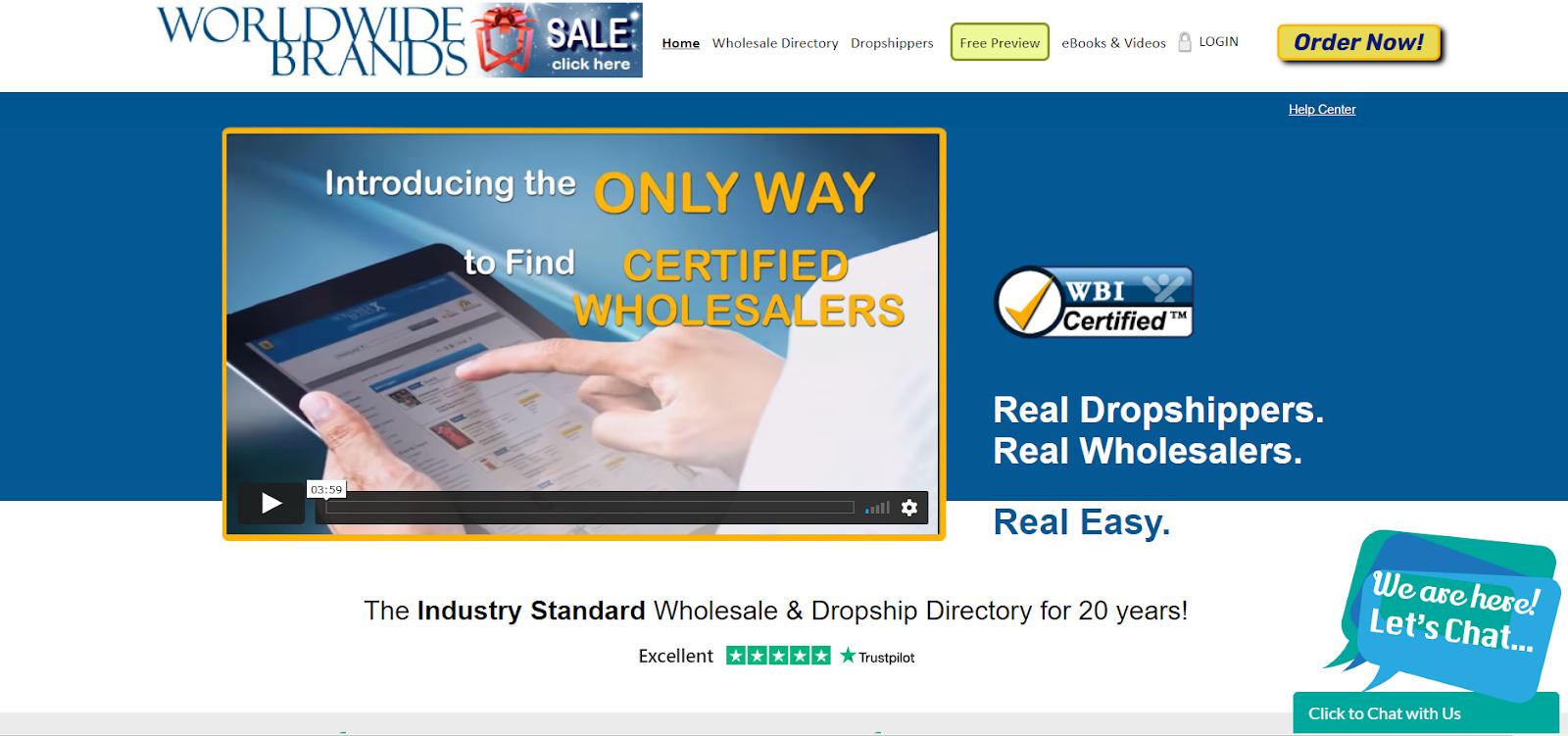 worldwide brands dropshipping website