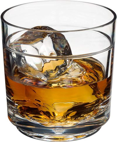 Drinique Elite Rocks Unbreakable Tritan Whiskey Glasses