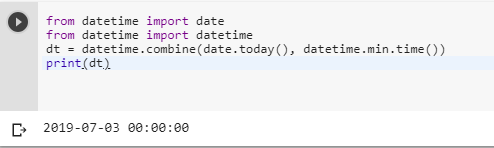 Convert date to datetime in Python - Intellipaat Community
