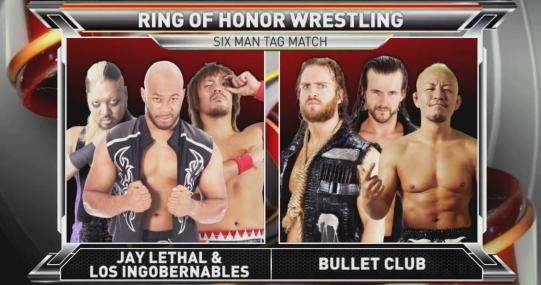 d33a9ce81c516 ROH TV results  Katsuyori Shibata vs. Bobby Fish  big six-man tag match