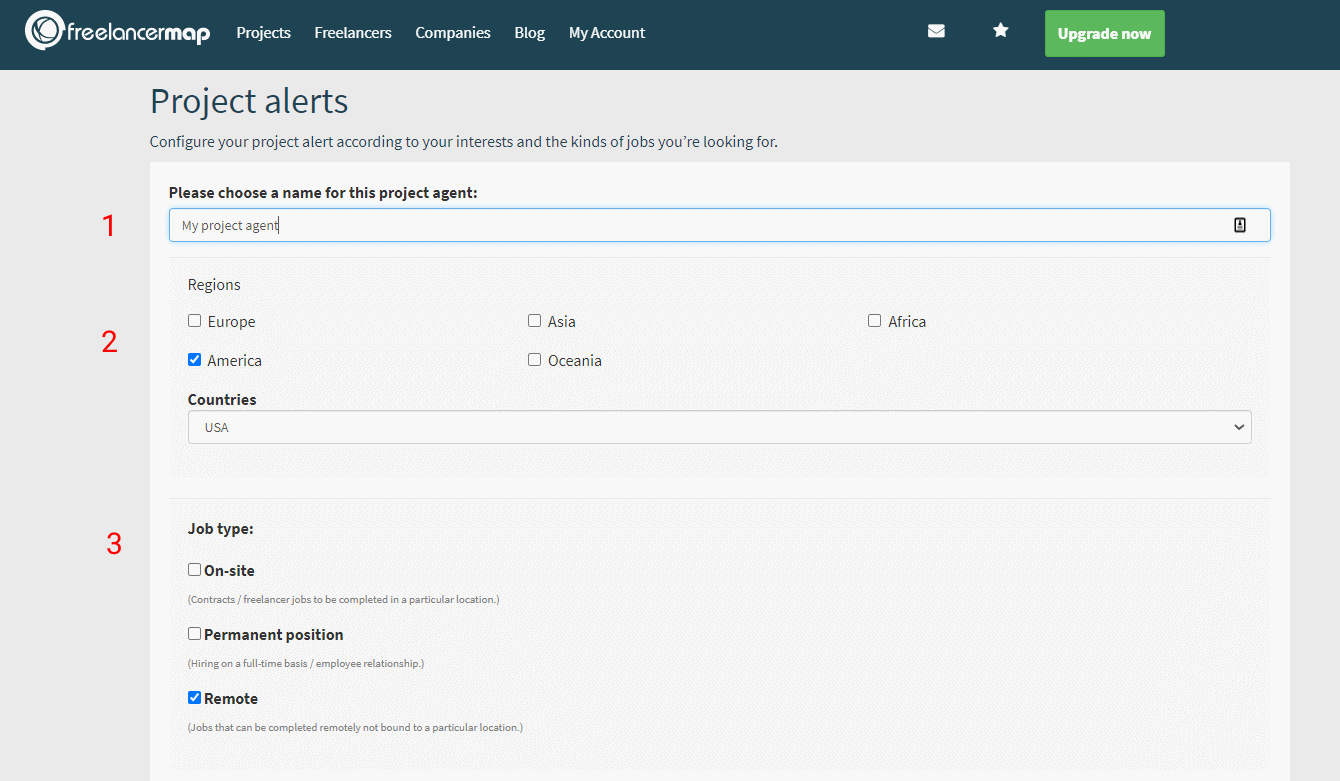 Setting Up The Project Agent (1/3)