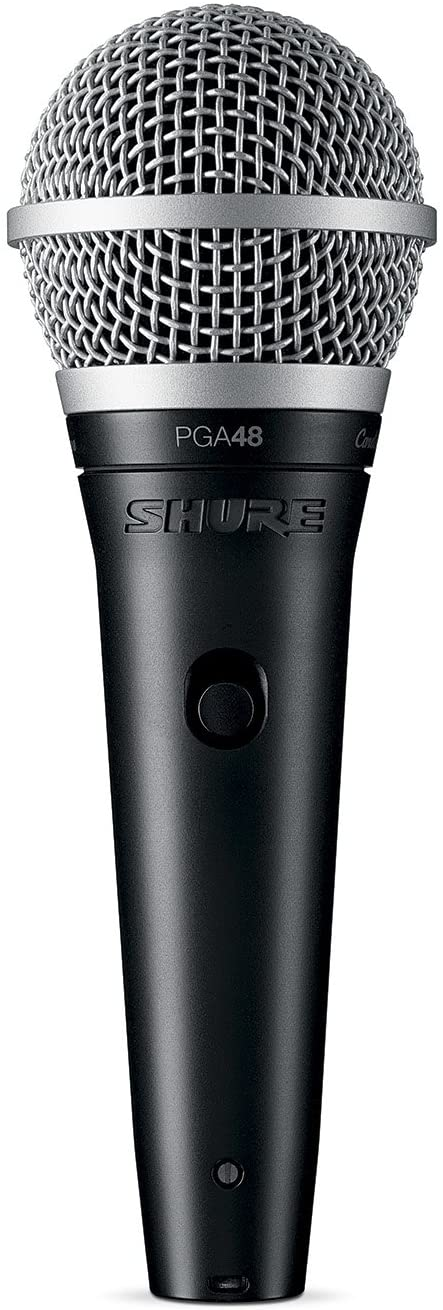 Shure PGA48-XLR Cardioid - Best Dynamic Microphone For Money