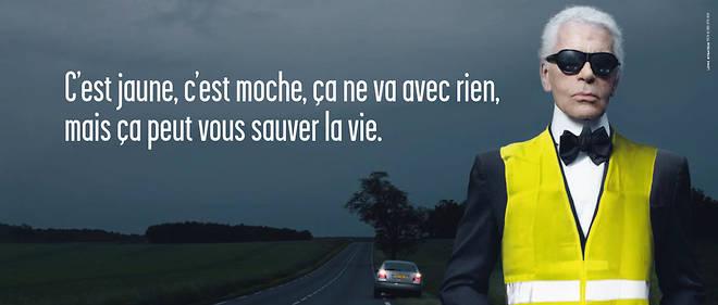campagne gilet jaune sécurité routière