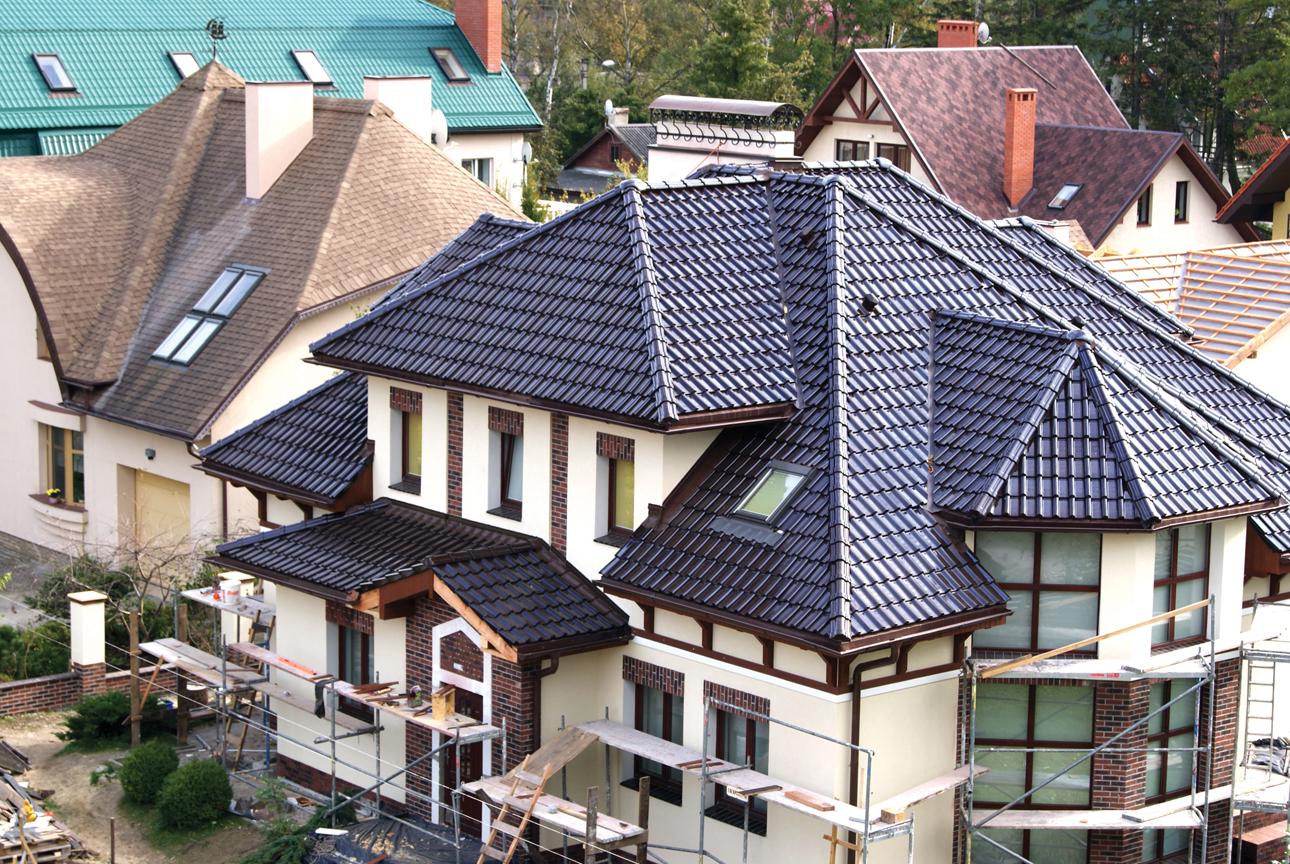типы крыш домов