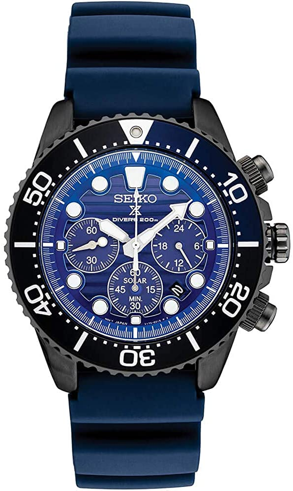 SSC701 Blue Silicone Solar Powered Diver