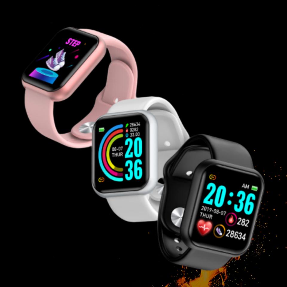 Compra Kit com 10Relógio Eletrônico Smartwatch D20 Pro - Import Premier os  Melhores Importados Originais com Garantia