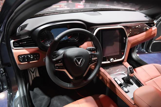 """Những đường nét tinh tế và chất liệu được chọn lọc tốt làm cho nội thất của xe VinFast trở thành """"ngôi nhà thứ hai"""" cực kỳ thoải mái và tiện nghi cho chủ xe"""