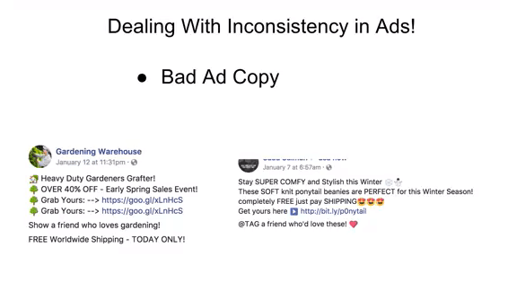 ad copy training with good and bad example of emoji use by justin woll ecommerce university