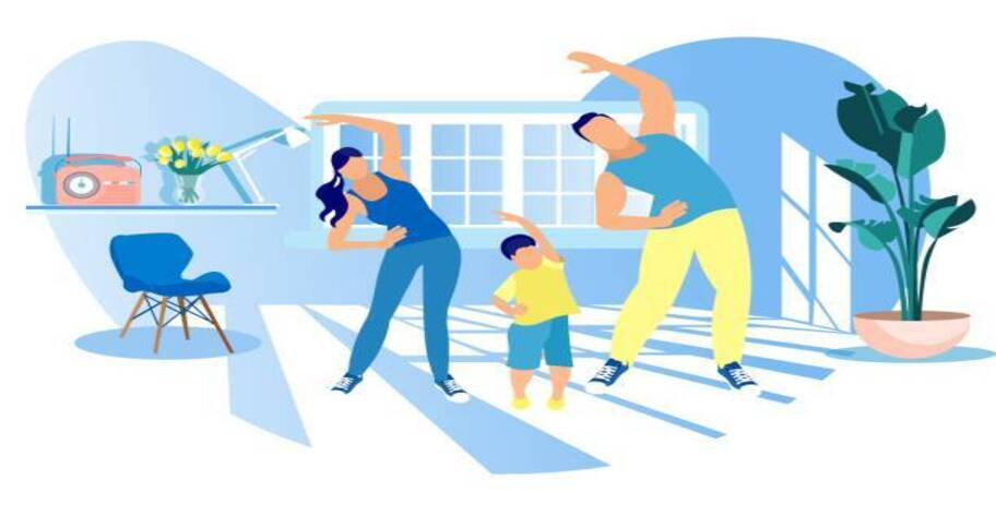 Yoga is an effective sports activity for the family